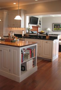 Kitchen and cabinetry in a custom-built Connor Home