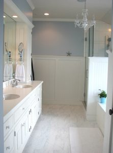 A Connor Homes custom bathroom